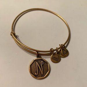 """Alex & Ani """"N"""" bracelet"""